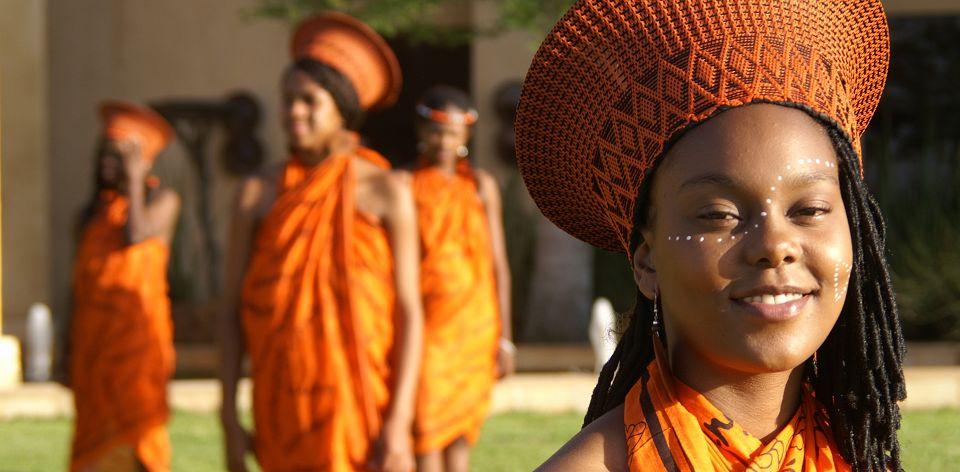 Велнес в Африке - племенные традиции.