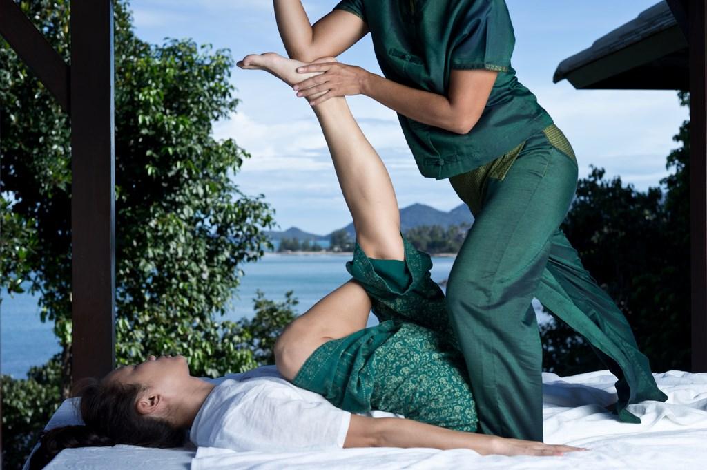 Туризм и отдых в Азии, тайский массаж