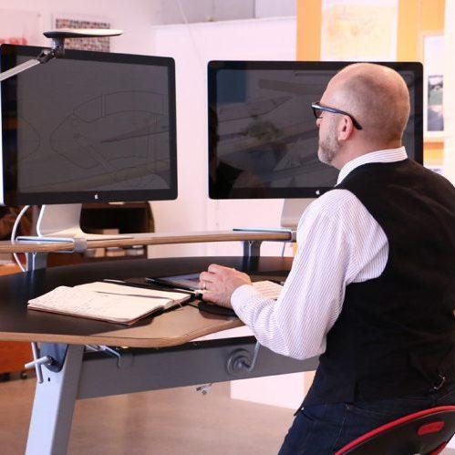 Эргономичный стол Sphere Desk