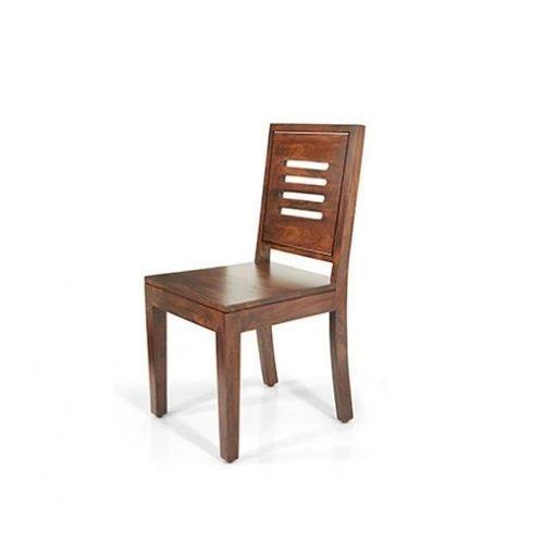 Деревянный стул Capra из дерева шишама