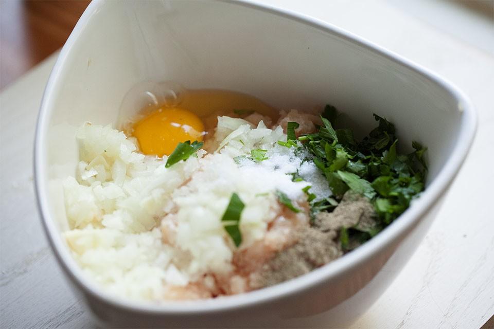 Рецепт куриных фрикаделек