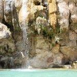 Горячие источники Маин, водопад