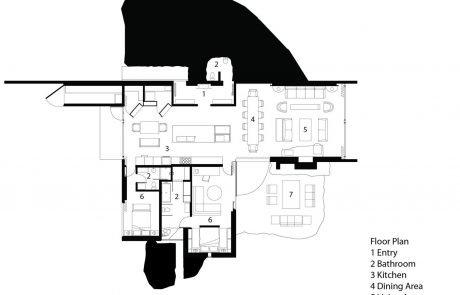 Загородный дом Пьер, план
