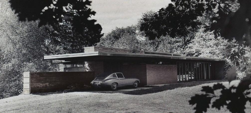Одноэтажные дома прерий – органический дизайн
