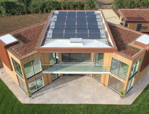 Солнечный дом, потребляющий только энергию солнца