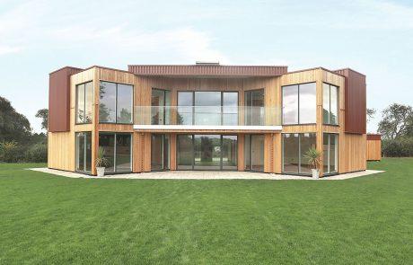 Энергоэффективный дом в Лестершире, фасад