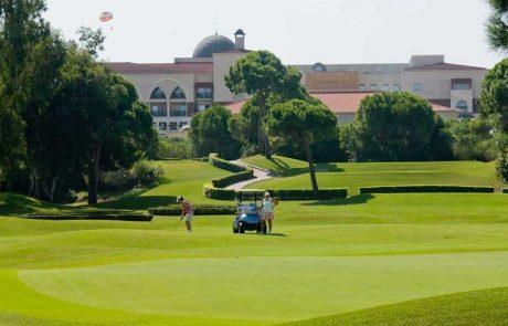 Лучшие курорты Турции, игра в гольф
