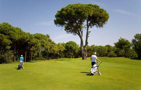 Отдых в Турции, игра в гольф