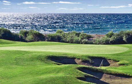 Отдых в Турции, Белек. Игра в гольф с видом на море