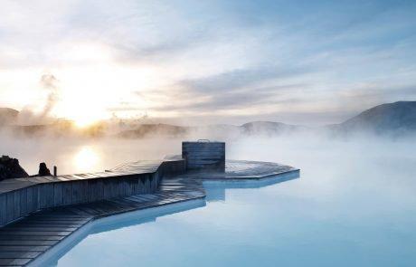Спа туризм в Исландии, термальный курорт Голубая лагуна