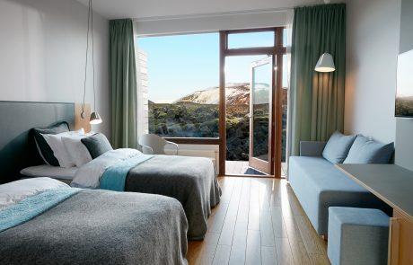 Отдых в Исландии, курорт Голубая лагуна, номер в отеле Silica
