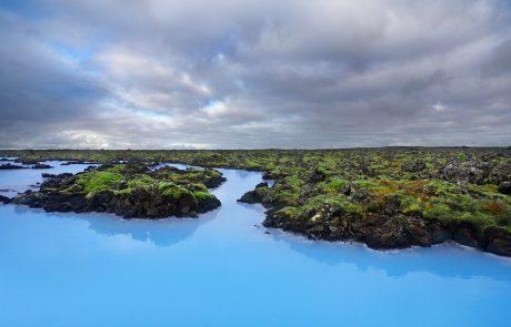 Термальный курорт Голубая лагуна, Исландия
