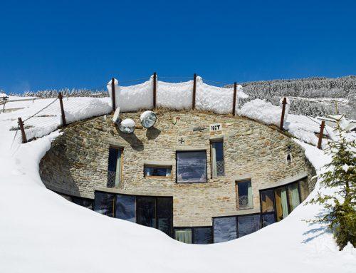 Альпийский подземный дом — вилла Вальс