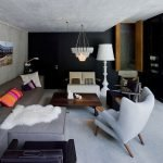 Альпийский подземный дом - вилла Вальс, гостинная