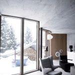 Альпийский подземный дом - вилла Вальс, входная дверь
