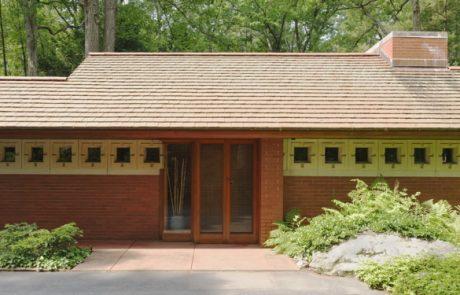 Дом Циммермана, центральный вход