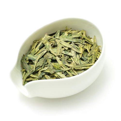 Китайский зеленый чай Лунцзин (Колодец Дракона)