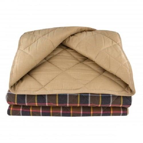 Стеганое одеяло из конопли коричневое