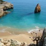 Пляж Карвальо, Алгарве, Португалия