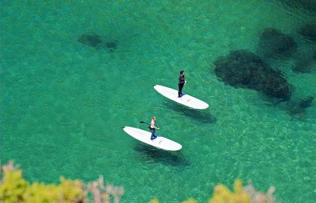 Серфинг с веслом, Алгарве