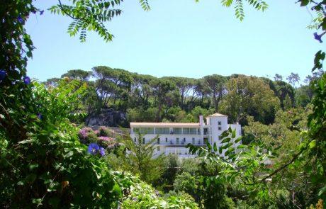 Термальный курорт Калдас де Моншике, гостинница. Португалия