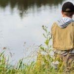 Рыбалка на озере Зрече