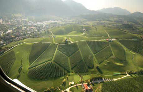 Поле для гольфа на Золотом холме в Коньицах, Словения