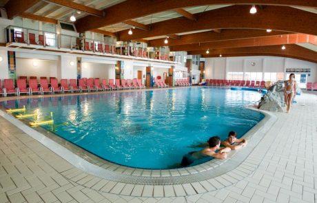Термальный бассейн курорта Терме Зрече