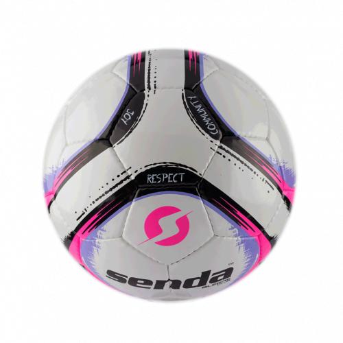 Футбольный мяч Senda Alegre, розовый / фиолетовый