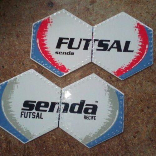 Панели покрышки футзального мяча Senda Recife