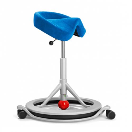 Эргономичный активный офисный стул седло Back App 2.0 с колесной базой