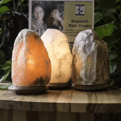 Коллекция соляных ламп SO Well Crystal Peak, Amber, White, Grey