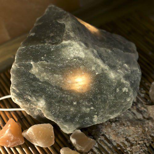 Соляная лампа SO Well Raw-Crystal-Grey-Salt-Lamp