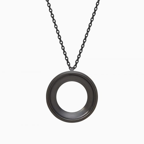 Фитнес кулон Misfit Shine 2 Halo Necklace jet