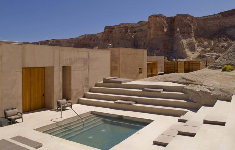 Курорт Amangiri, бассейн в спа центре Aman Spa