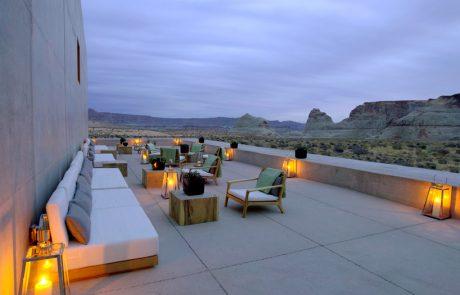 Курорт Amangiri, гостиная в пустыне