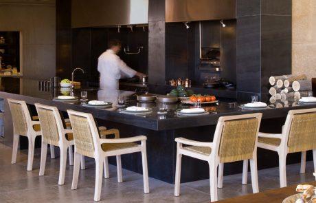Курорт Amangiri, открытая кухня
