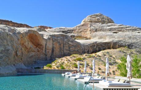 Курорт Amangiri, главный бассейн