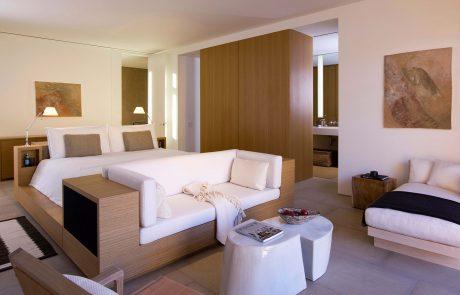 Курорт Amangiri, спальня