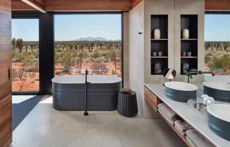 Лоджа Longitude 131°, ванная комната