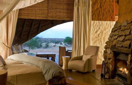 Лоджа Tswalu Kalahari, спальня