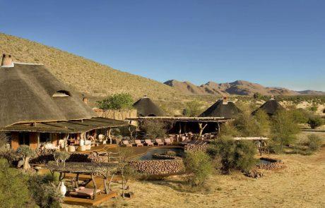 Tswalu Kalahari, главный лагерь Motse