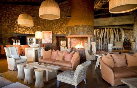 Tswalu Kalahari, гостиная