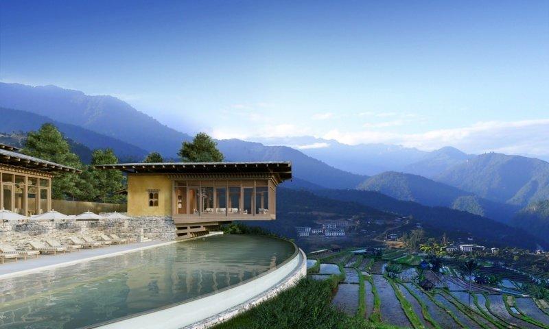 Курорт счастья Six Senses Bhutan
