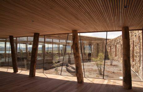 Интерьер отеля Tierra Patagonia