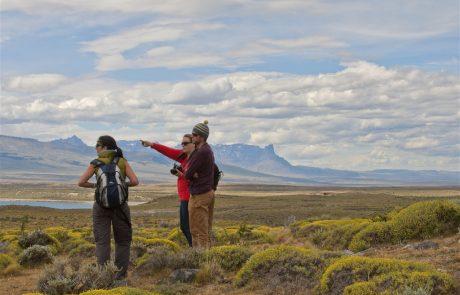 Осмотр окрестностей отеля Tierra Patagonia