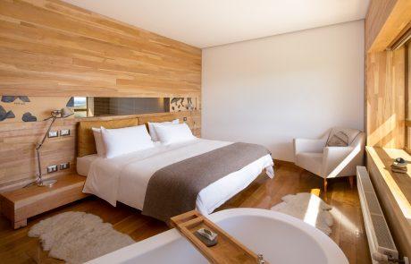 Отель Tierra Patagonia, стандартный номер