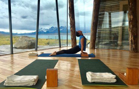 Отель Tierra Patagonia, студия йоги