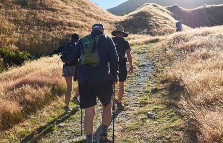 Приключенческий туризм в Новой Зеландии, поход в горы