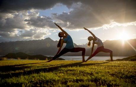 Активный отдых в Новой Зеландии, йога